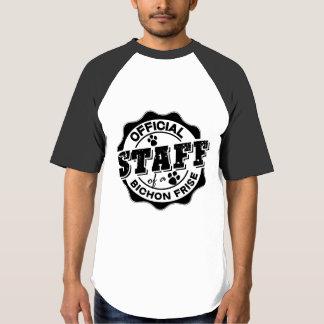 Official Staff of a Bichon Frise T-Shirt