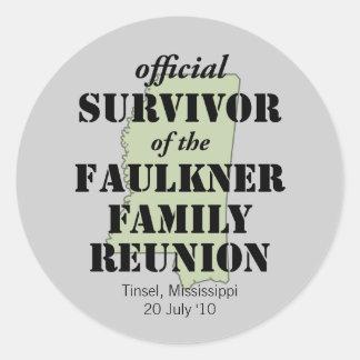 Official Survivor green Sticker