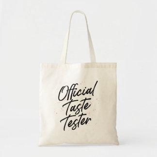 Official Taste Tester Tote