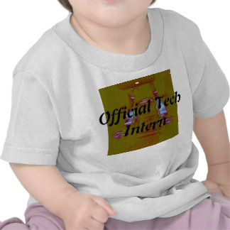 Official Tech Intern 2 Tshirt for Kids Science Tee