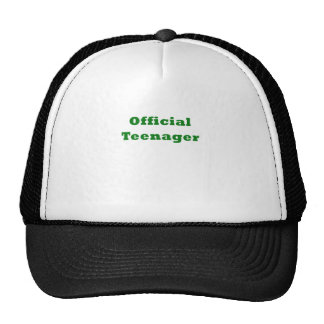 Official Teenager Mesh Hat