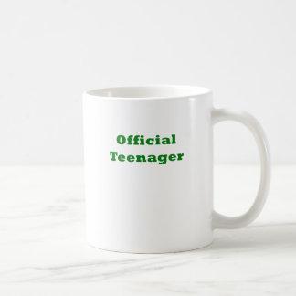 Official Teenager Coffee Mug