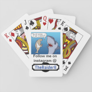 Official Theraider6 Deck of Cards