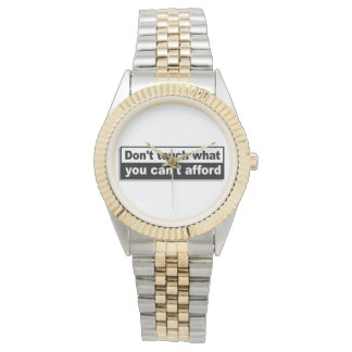 Official Theraider6 Two Tone Watch