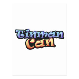 Official Tinman Can Merchandise Postcard
