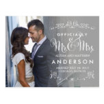 Official Titles Wedding Announcements - Grey