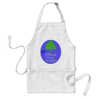Official Tree-Hugger Adult Apron