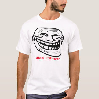 Official Trollmaster white T-shirt! T-Shirt