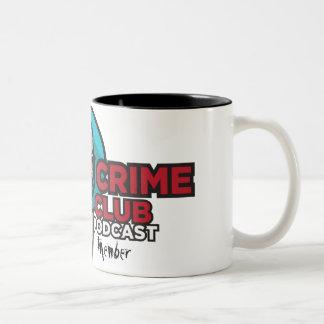 Official True Crime Fan Club Member Mug - Two Tone
