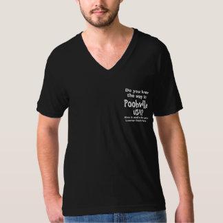 Official V-Neck Shirt for Poohville, USA