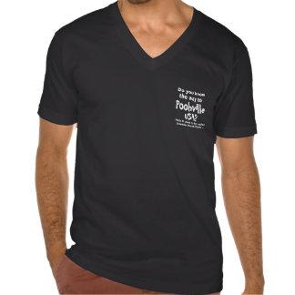 Official V-Neck Shirt for Poohville USA