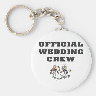 Official Wedding Crew Key Chain