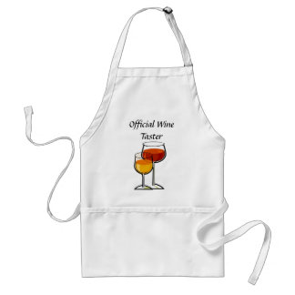 Official Wine Taster Standard Apron