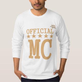 officiall mc t shirt
