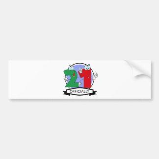 Officially 21 Birthday Banner Bumper Sticker