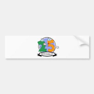 Officially 25 Birthday Banner Bumper Sticker