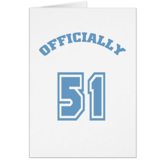 Officially 51 card