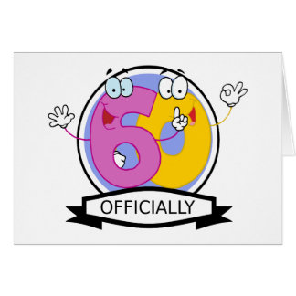 Officially 60 Birthday Banner Card