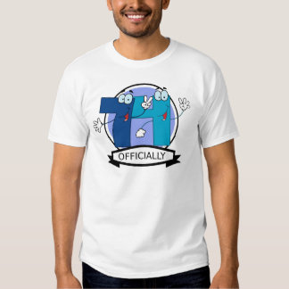 Officially 74 Birthday Banner T-shirt