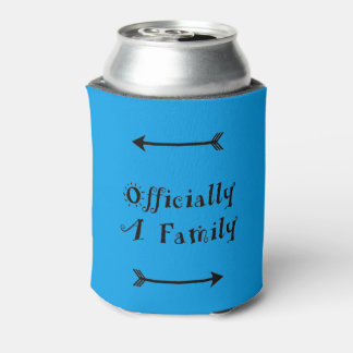 Officially a Family - Adoption Day Can Cooler