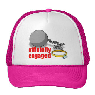 Officially Engaged Cap Trucker Hat