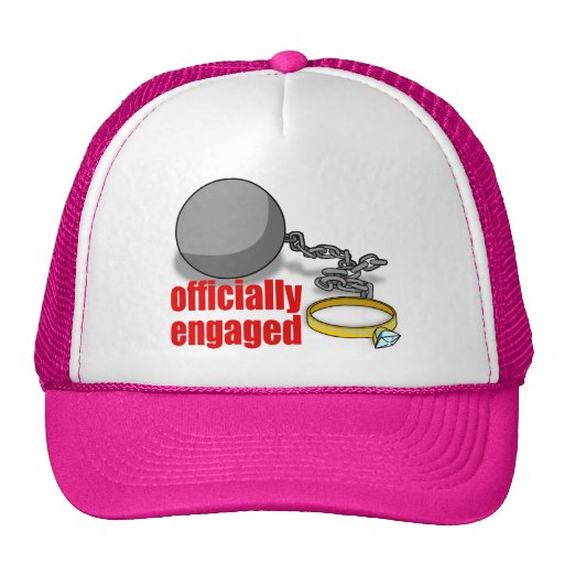 Officially Engaged Cap Mesh Hat
