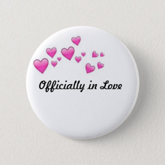 Officially in Love Button