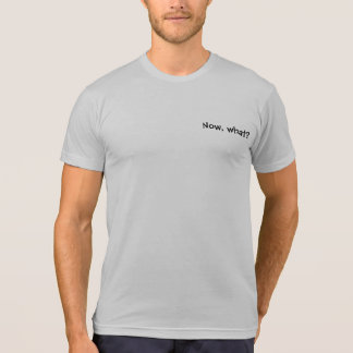 Officially Learnificated! Now, what? shirt