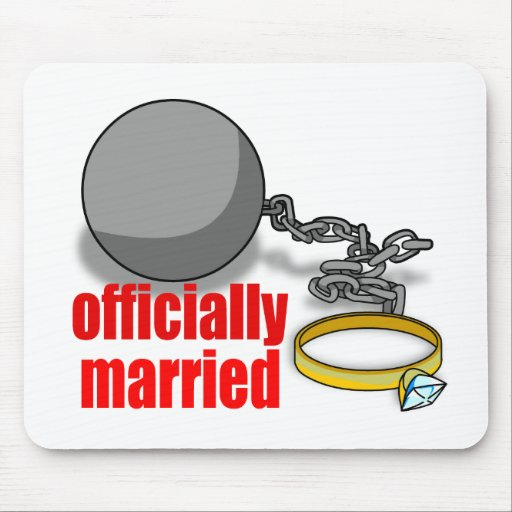Officially Married Mousepad