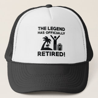 Officially Retired Trucker Hat