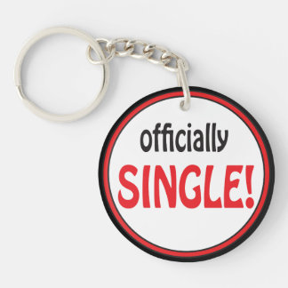 Officially Single | Divorced Key Ring