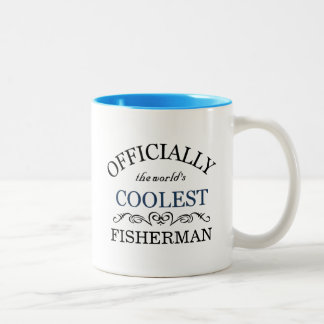 Officially the world's coolest Fisherman Two-Tone Coffee Mug