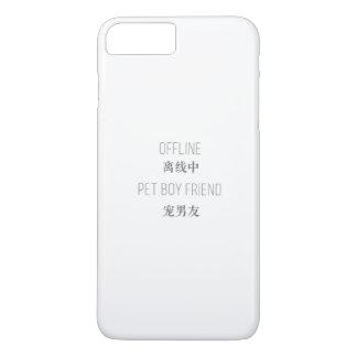 offline, pet boyfriend iPhone 8 plus/7 plus case