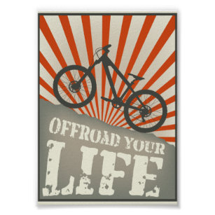 Offroad your life poster