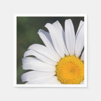 Offset Daisy Paper Napkin