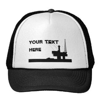 Offshore Oil Mesh Hat