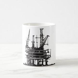 Offshore Oil Rig Coffee Mug