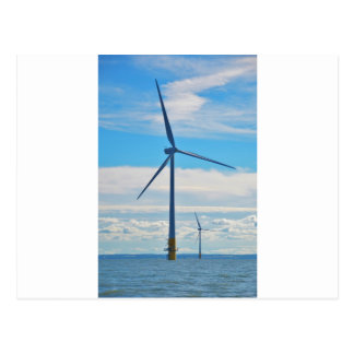 Offshore Wind Farm Postcard