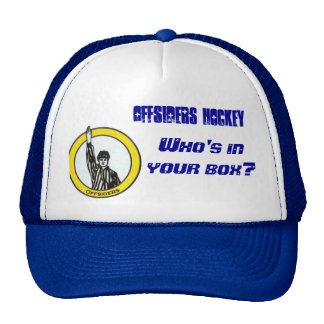 Offsiders Crest, Offsiders Hockey, Who's in you... Cap