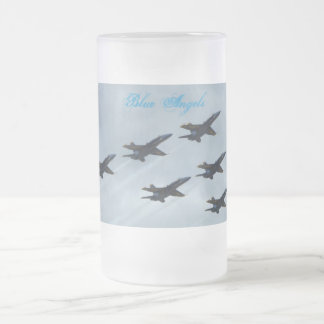 Offutt Air Force Base Frosted Glass Mug
