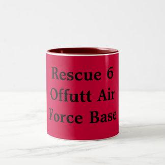 Offutt  Air Force Base Two-Tone Mug