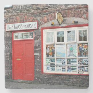 O'Flahertys Pub, Dingle, Irish Pub Coaster. Stone Beverage Coaster