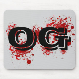 OG | Original Gangster Ghetto Thug Life Gangsta Mouse Pad