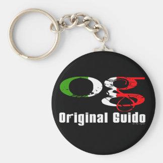 OG - Original Guido Key Ring