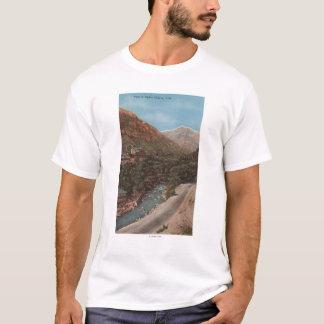 Ogden, Utah - Ogden Canyon View & River T-Shirt