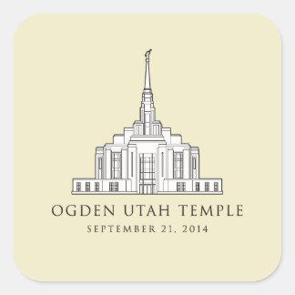Ogden Utah Temple Primary sticker