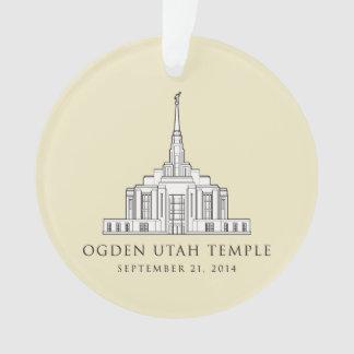 Ogden Utah Temple Sept 21 2014 ornament