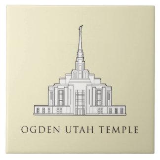 Ogden Utah Temple tile