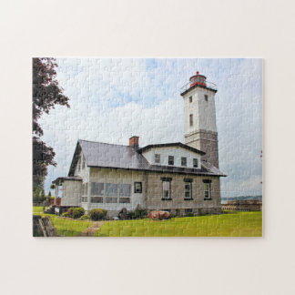 Ogdensburg Harbor Lighthouse, New York Puzzle