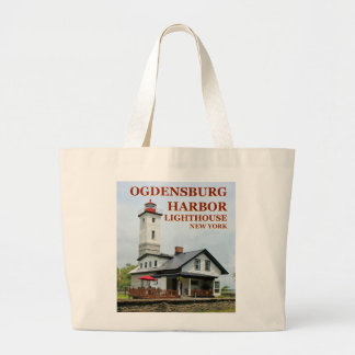 Ogdensburg Harbor Lighthouse, New York Tote Bag
